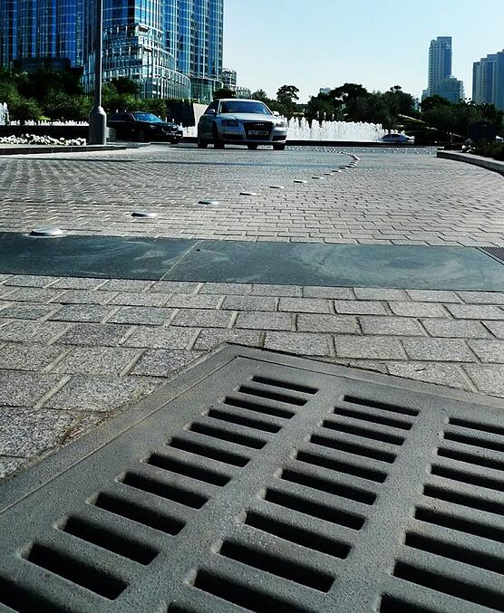 Burjside Boulevard Sump Covers