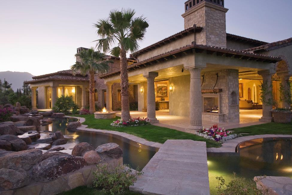rustic style home