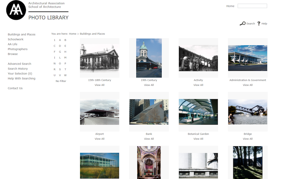 Architectural Association Photo Library