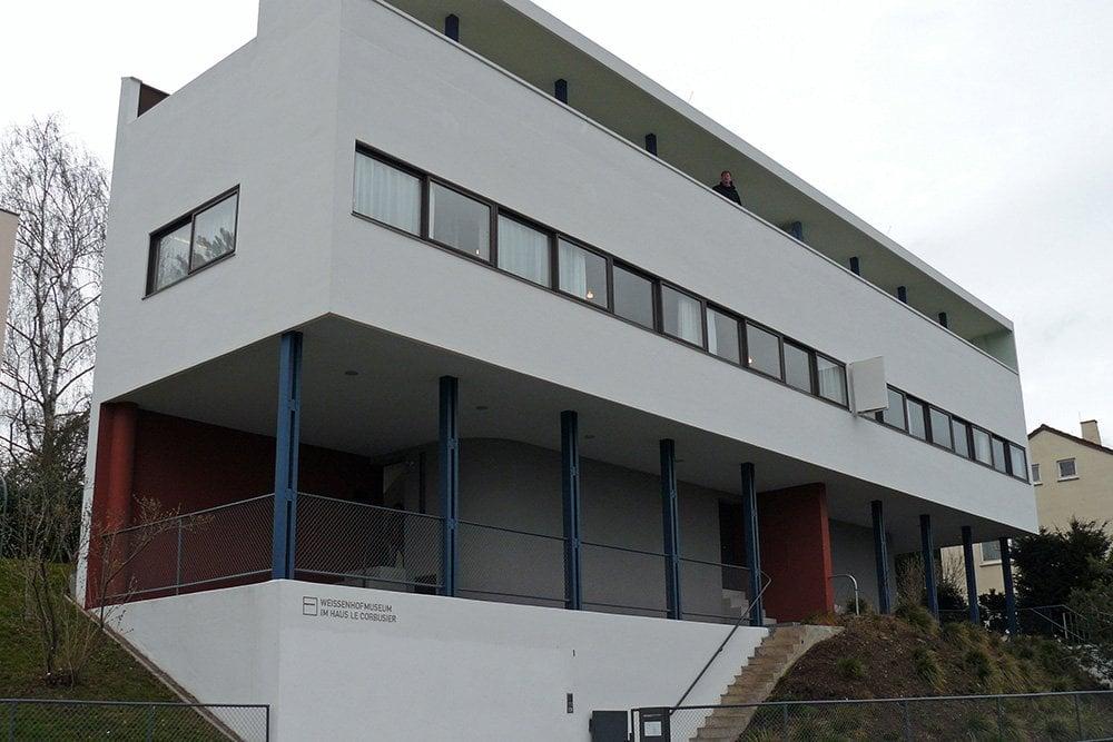 Entrance of Weissenhof Estate