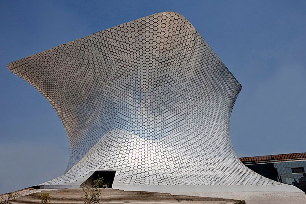 The Museo Soumaya in Mexico