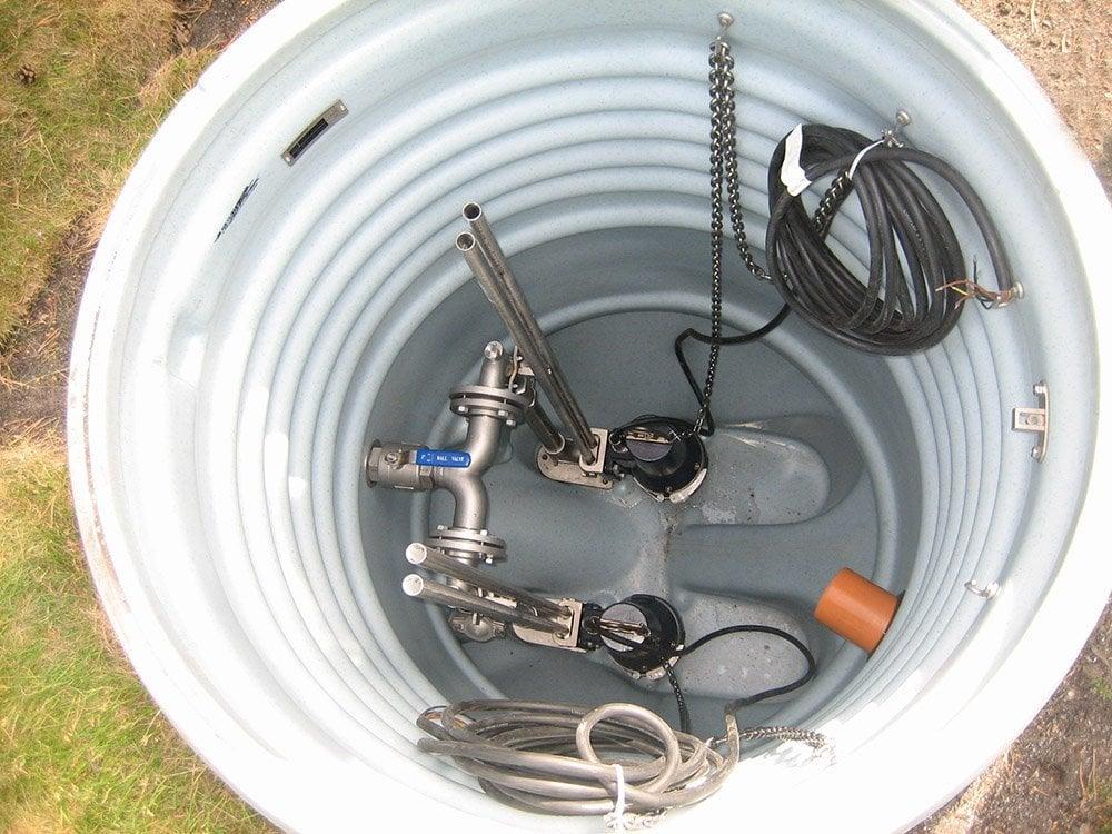 internals of sump pump
