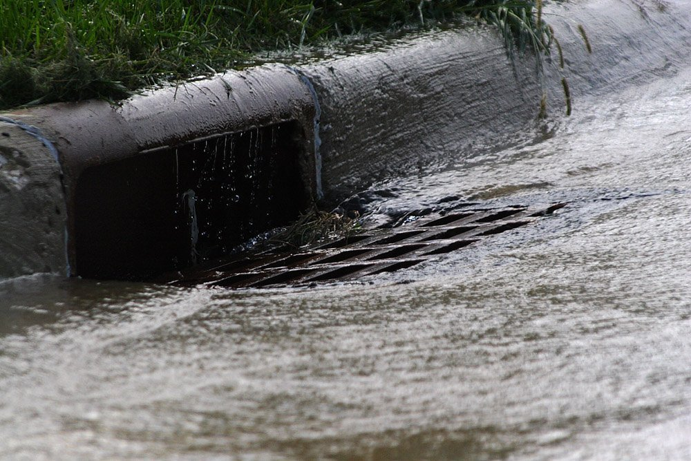 storm drain curbside inlet