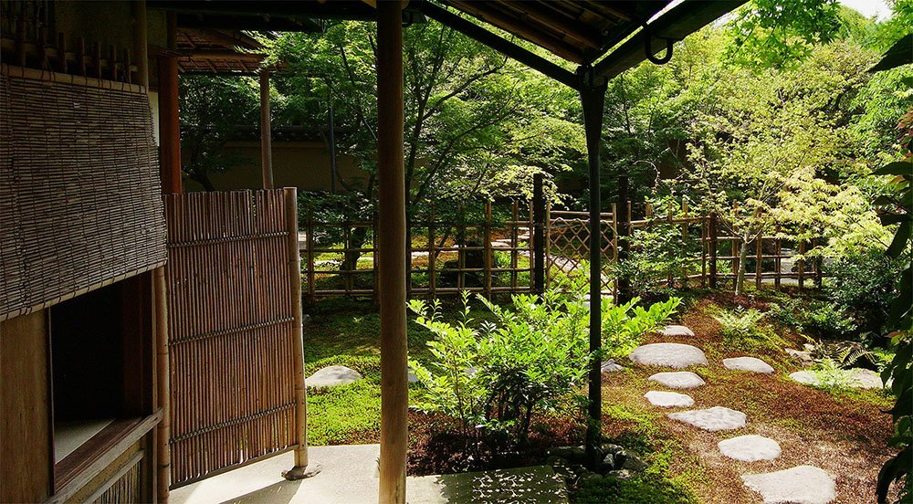 Tea house Roji garden