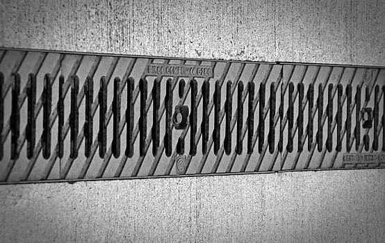 Trench drain grate