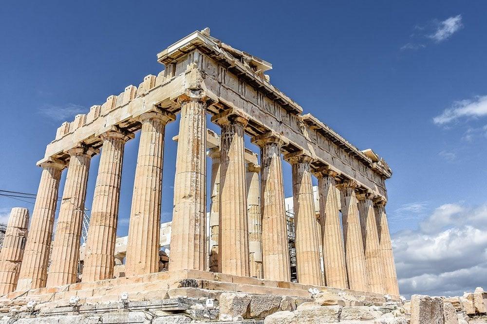 Remains of Parthenon