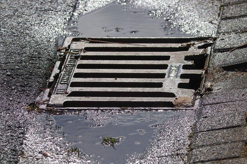 steel drain