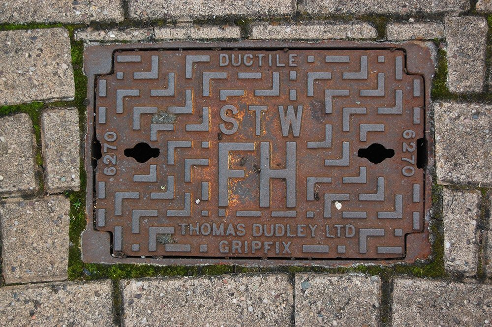 access cover on streets