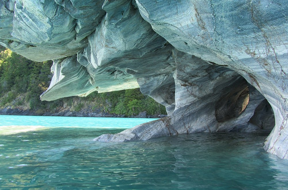 marble cave in Chico Chile