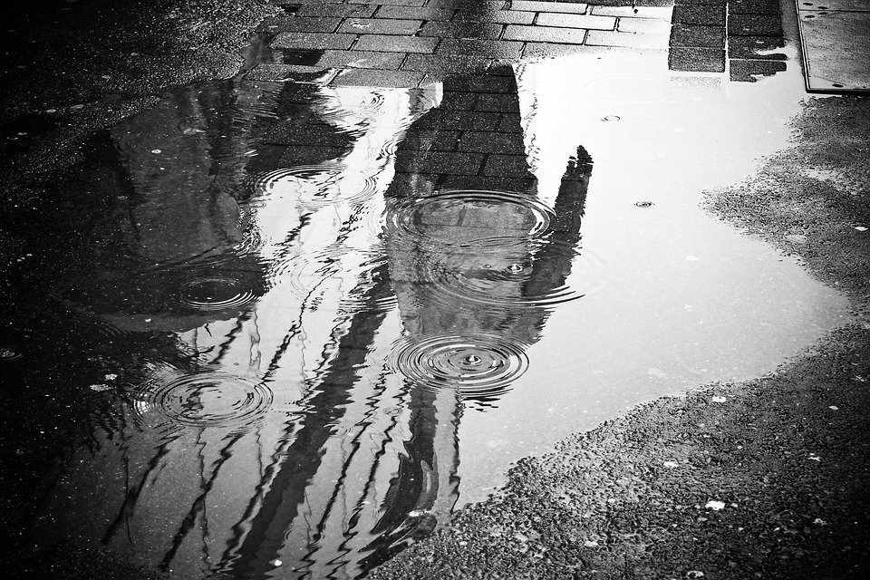 water puddles