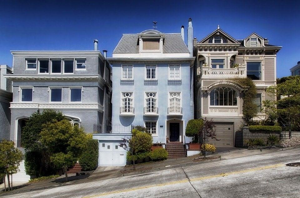 San Francisco, California, Houses, Residential Area