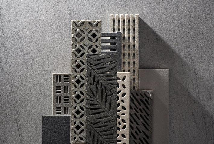 Custom decorative trench grates