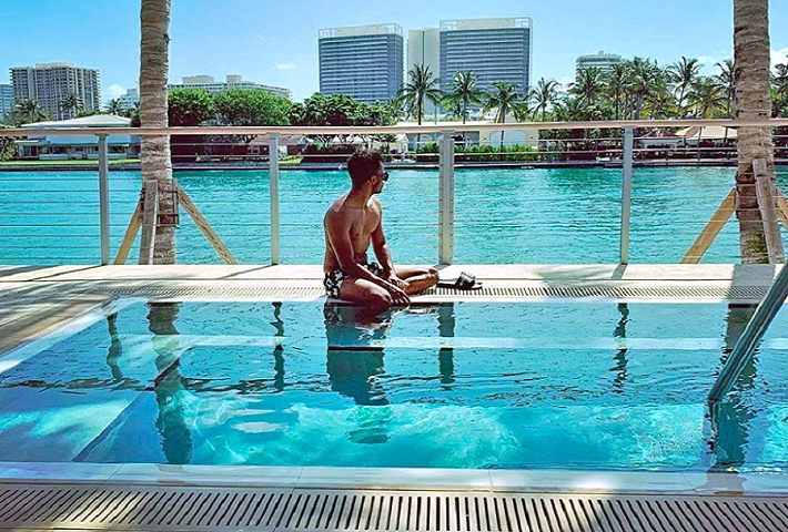 integrate a pool into a landscape